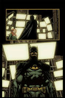 Batman the return page 11 by Eddy-Swan-Colors