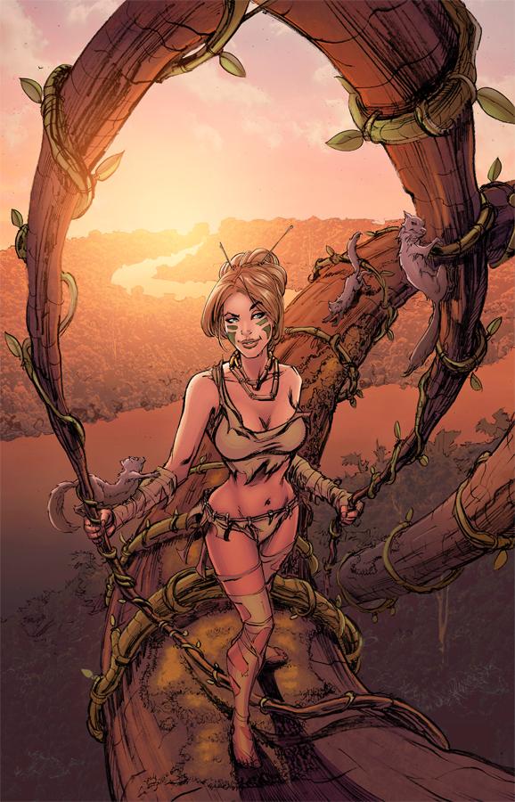 Jungle Book Cover Art : Junglebook cover by eddy swan colors on deviantart