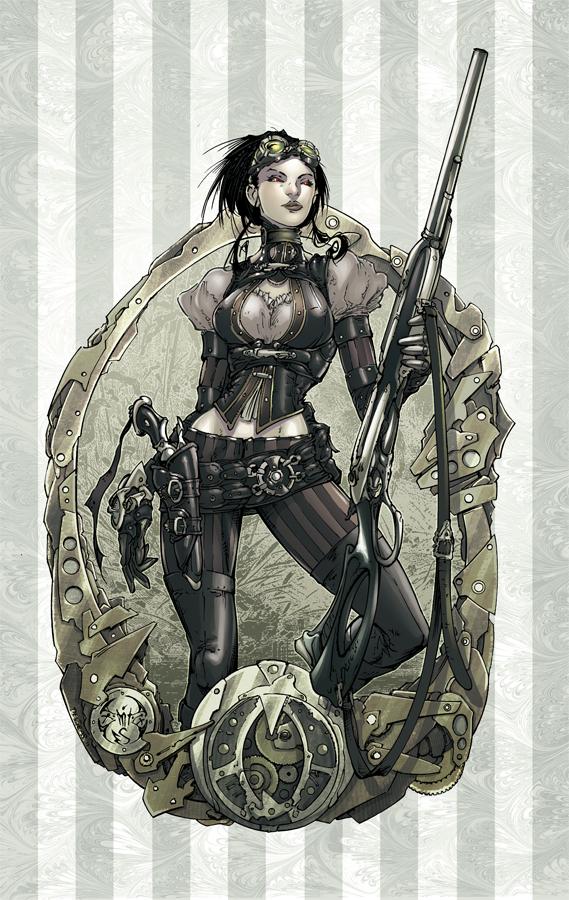 Lady Mechanika by Eddy-Swan