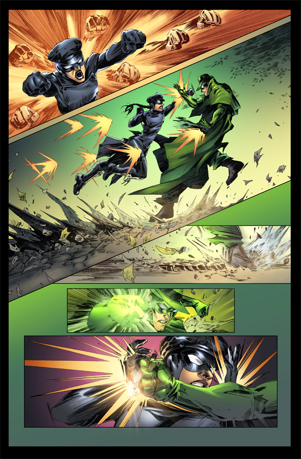Green hornet Page by Eddy-Swan