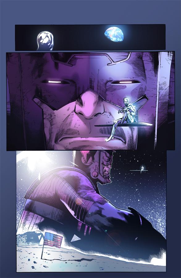 Galactus Silversurfer by Eddy-Swan