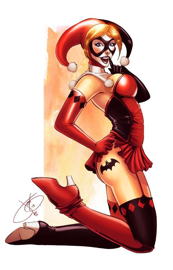 Harley Quin Bat tat by Eddy-Swan-Colors