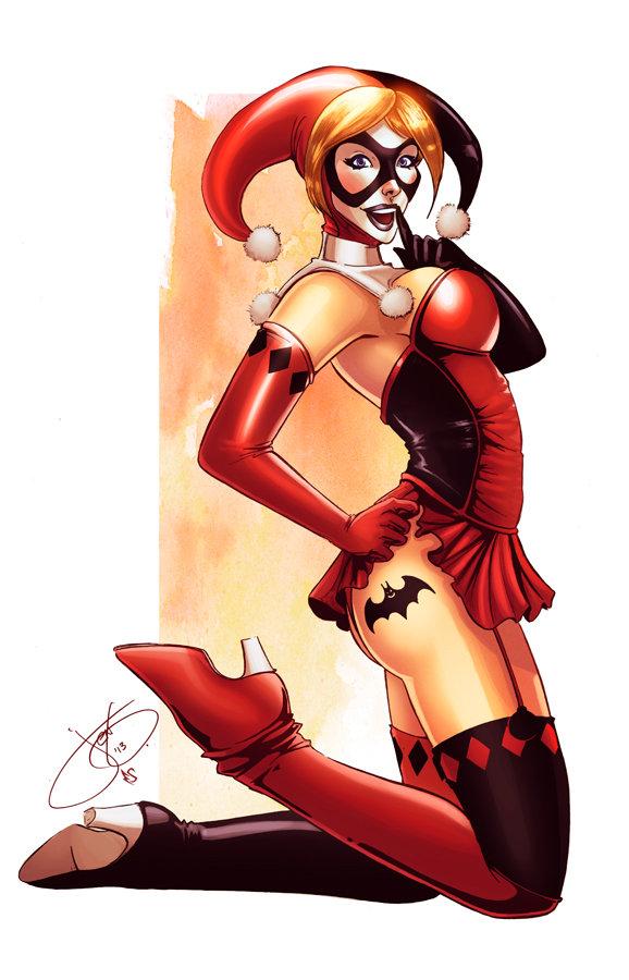 Harley Quin Bat tat by Eddy-Swan
