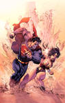 Superman Vs Wonderwomen