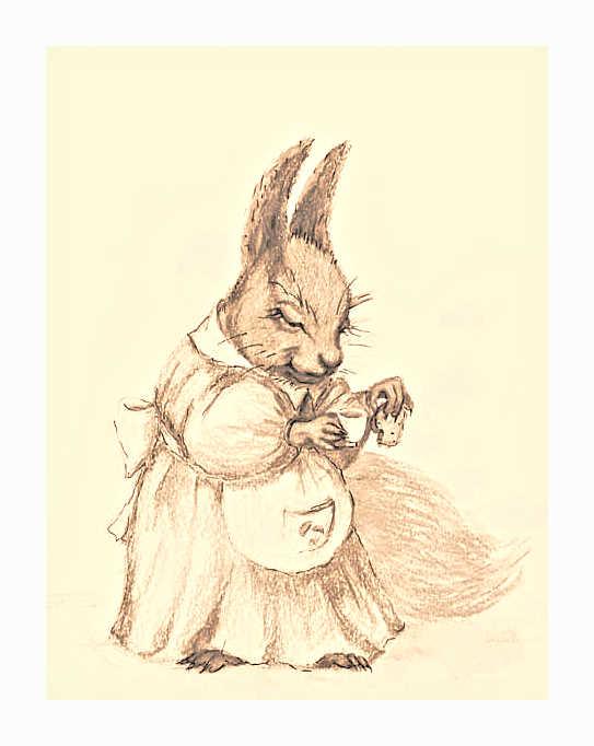 squirrel by Elena-nenz