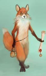 Reineke fox by Elena-nenz