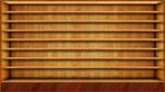 Wood Shelves Wallpaper by SamirPA