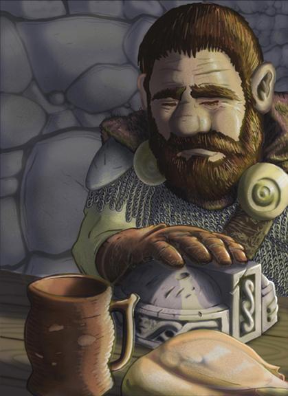 One Sad Dwarf by Chrono01