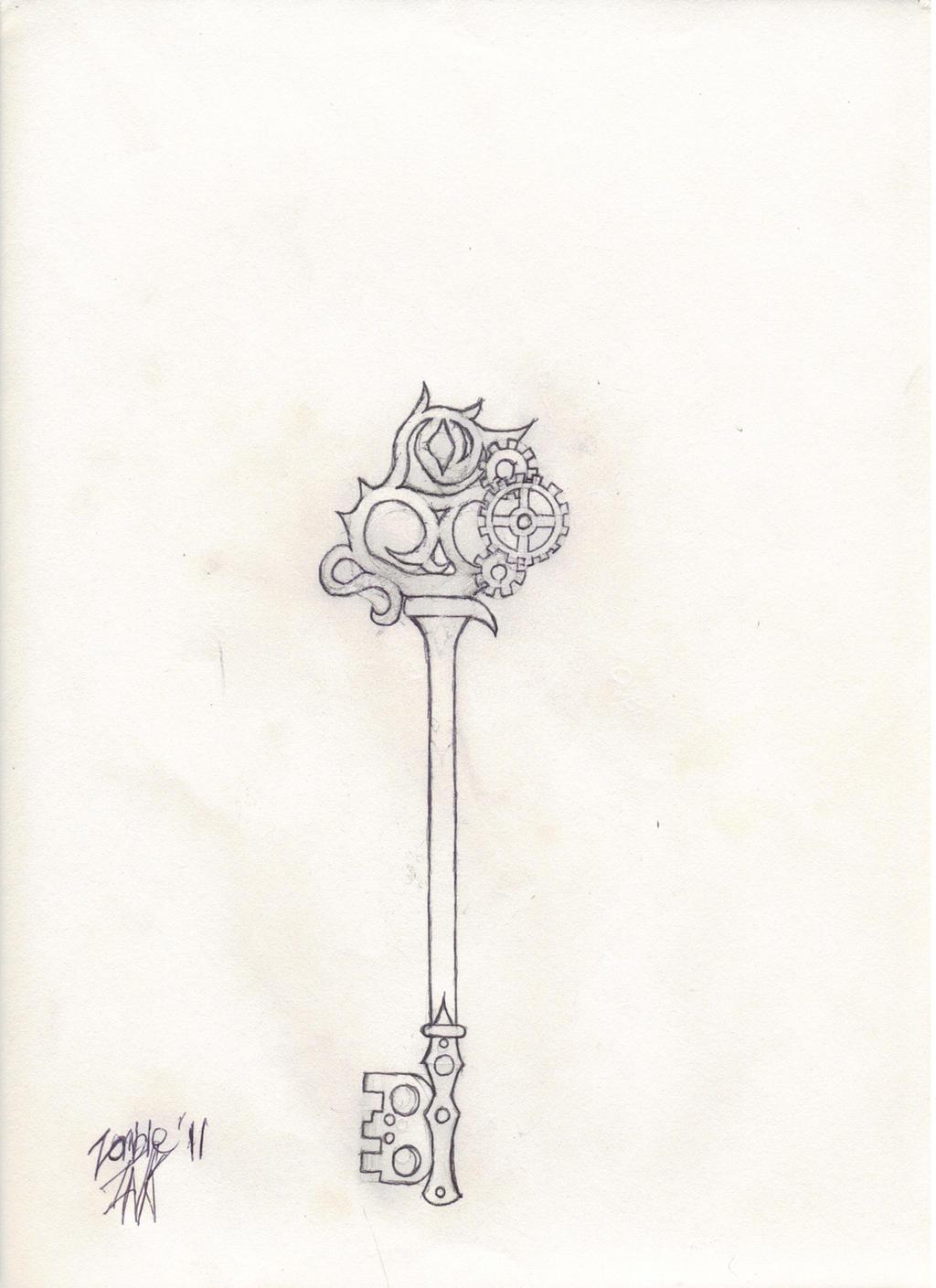 The Skeleton Key Sketch by ZombieBerlioz