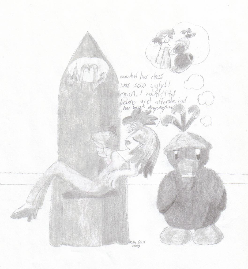 Valentina and Dodo by MistyKoopa