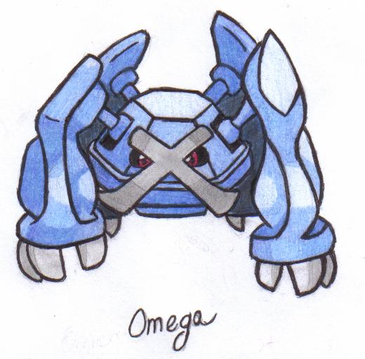 Omega the Metagross by MistyKoopa