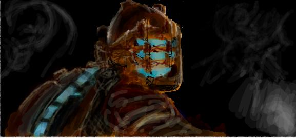 Dead Space Issac by WhiteRabbitslate