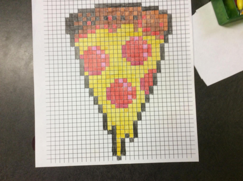 pizza pixel art by NickH2O11