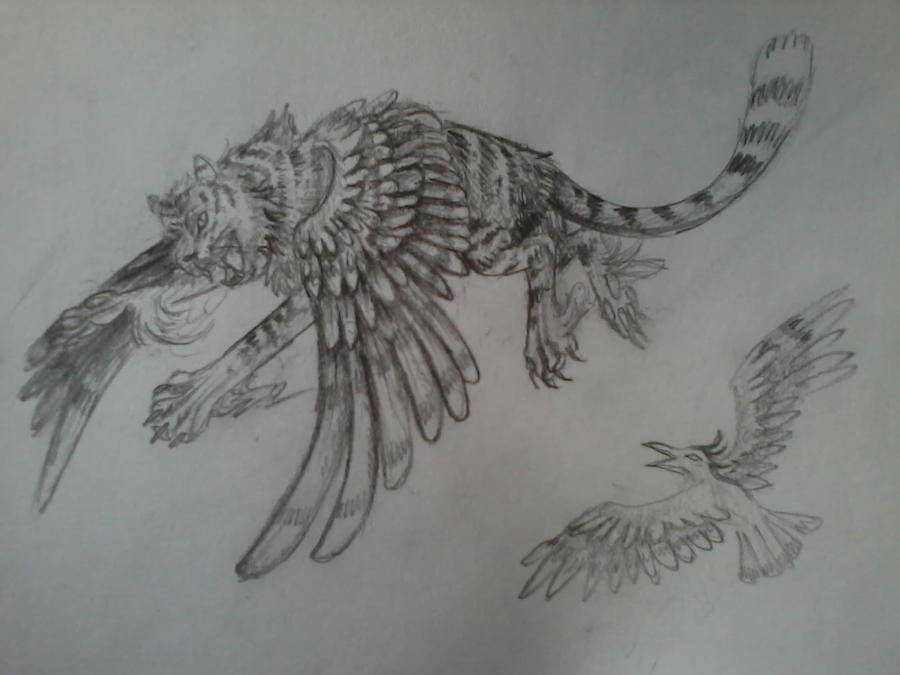 Flying tiger by KechK