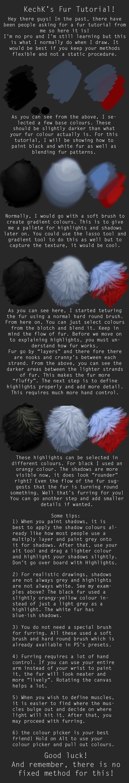 KechK's Fur tutorial! by KechK