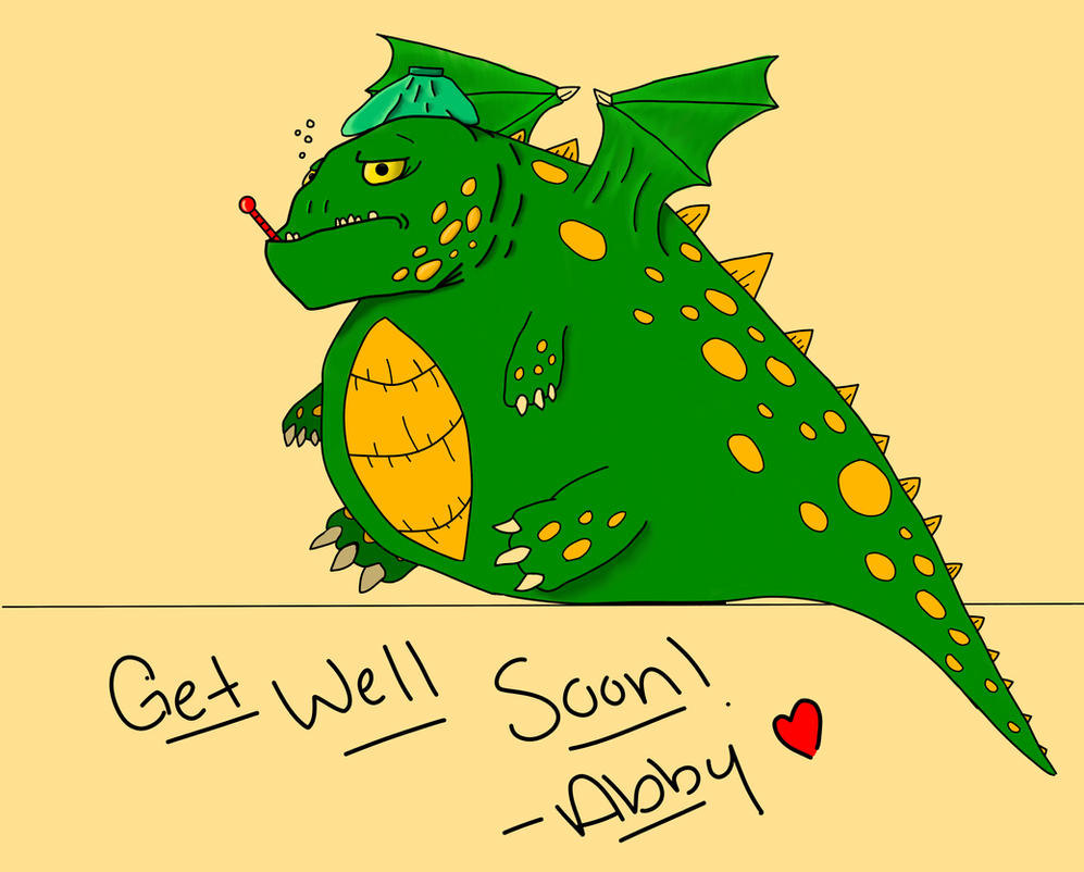 sick dragon get well card for a friend by xiliansfan on deviantart