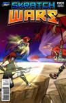 Skratchwars Cover -- Battle of Badlands by DerezzedDragon