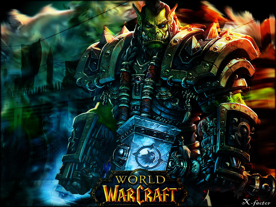 World of Warcraft wall3 by lxfactorl
