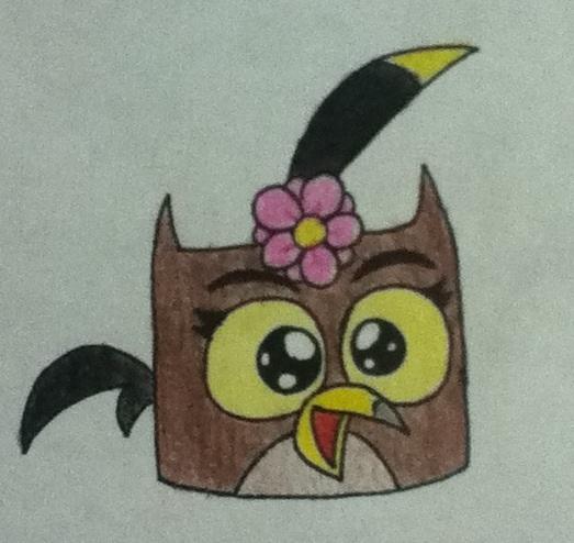 Angry Birds OCs: Mallot Bird by AngryWhiteBird