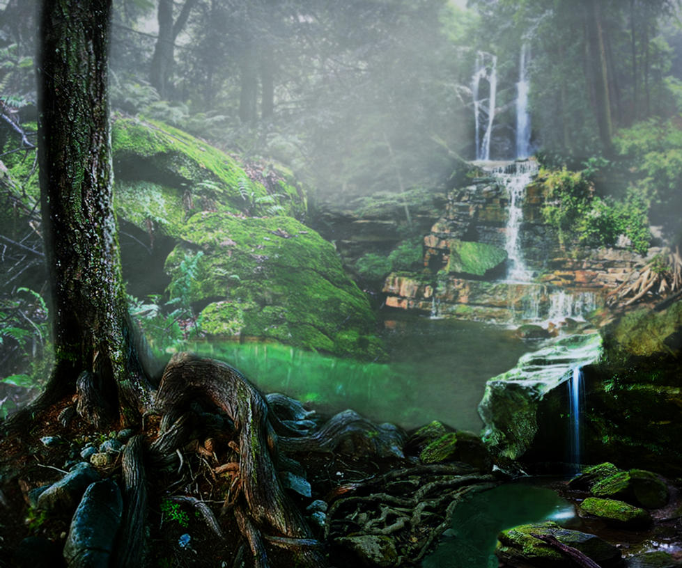 Fantasy Forest By Rhabwar Troll Stock On Deviantart