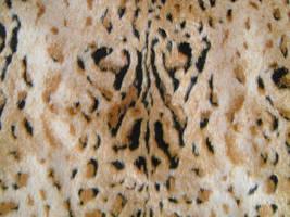 Leopard Faux Fur 1 by Rhabwar-Troll-stock