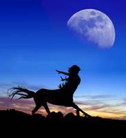 Centaur Moon stock by Rhabwar-Troll-stock