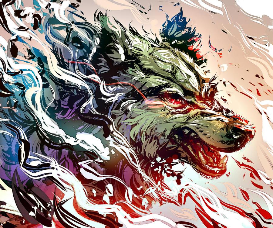 Wolf by Kawiku