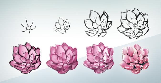 Flower Steps by Kawiku