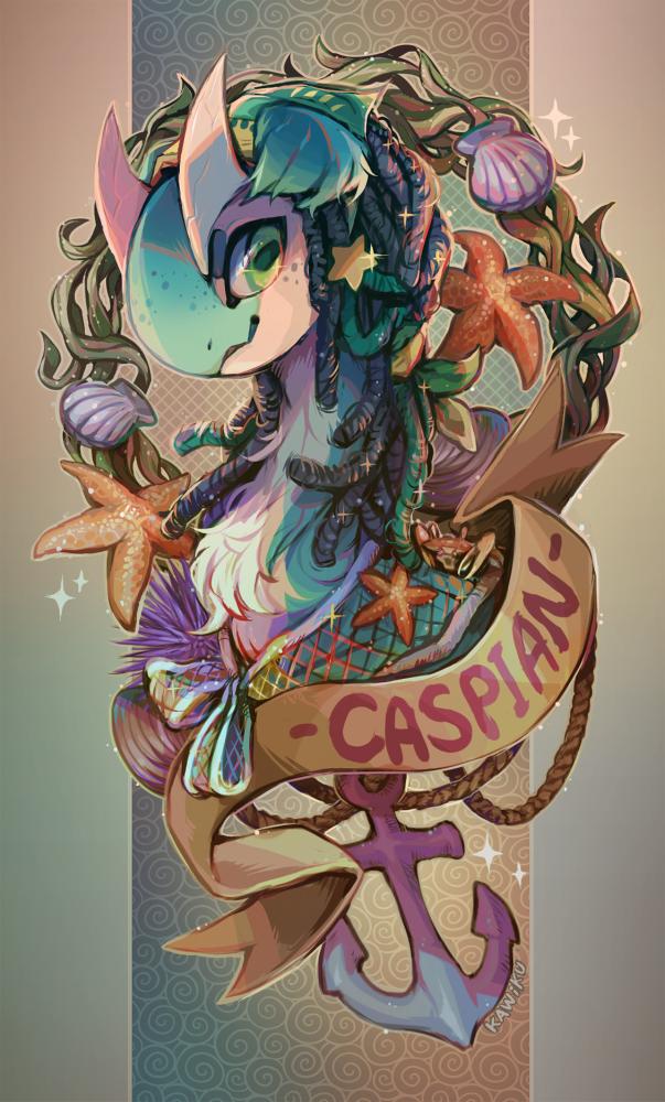 Caspian by Kawiku