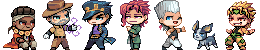 Chibi Pixel Crusaders by Kawiku