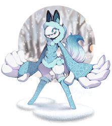 Winter Scarfox OTA (closed) by Kawiku