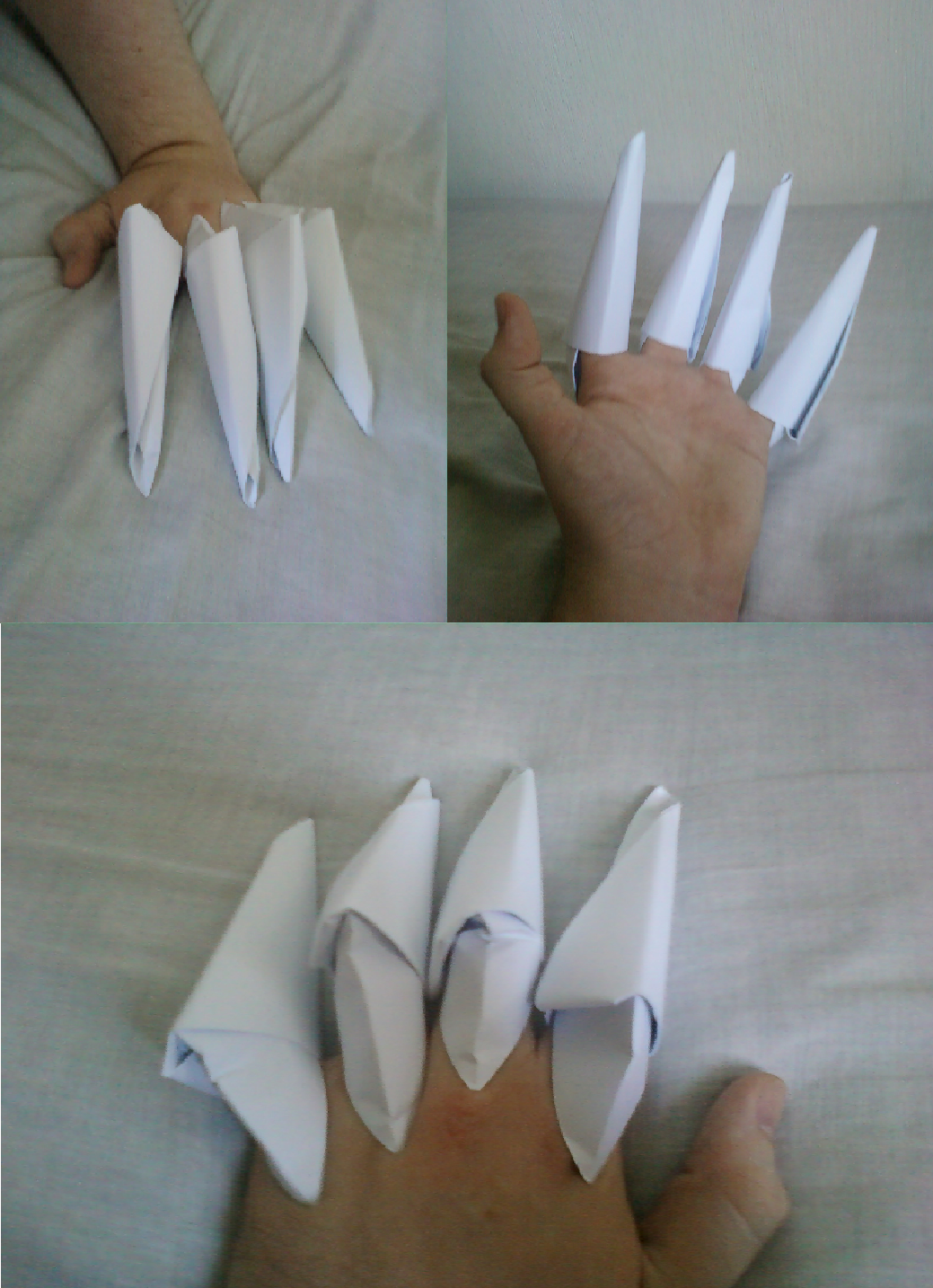 Claw prototype - Nightmare Rarity cosplay by RarityBell on ...