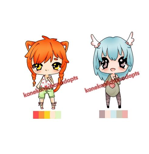 Cute Adopts 2 [OPEN] by konekoniichanADOPTS