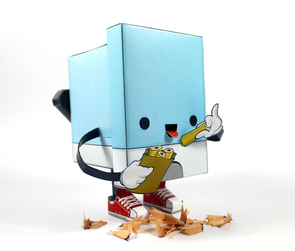 Celebrate work - Papertoy by HiredMonkeezCraft