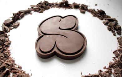 Chocofitti - chocolate letter S