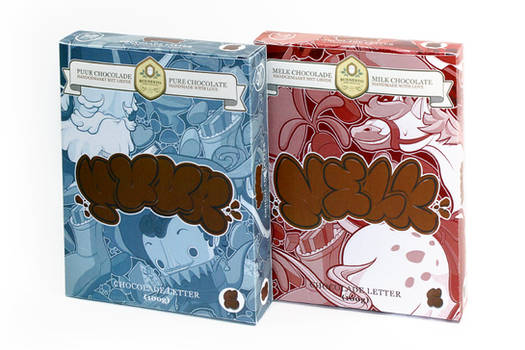 Chocofitti - pure and milky flavors!