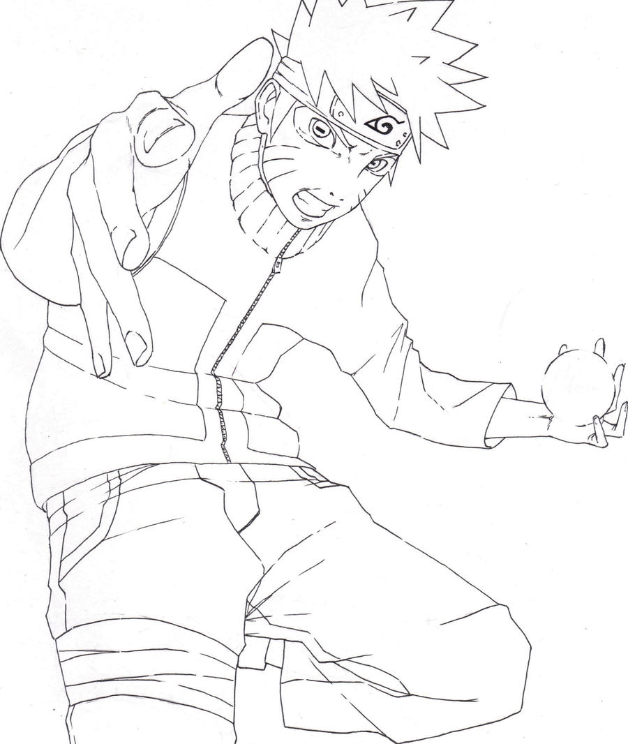 Sage-Mode Naruto LineArt by ArtisticPhun on DeviantArt