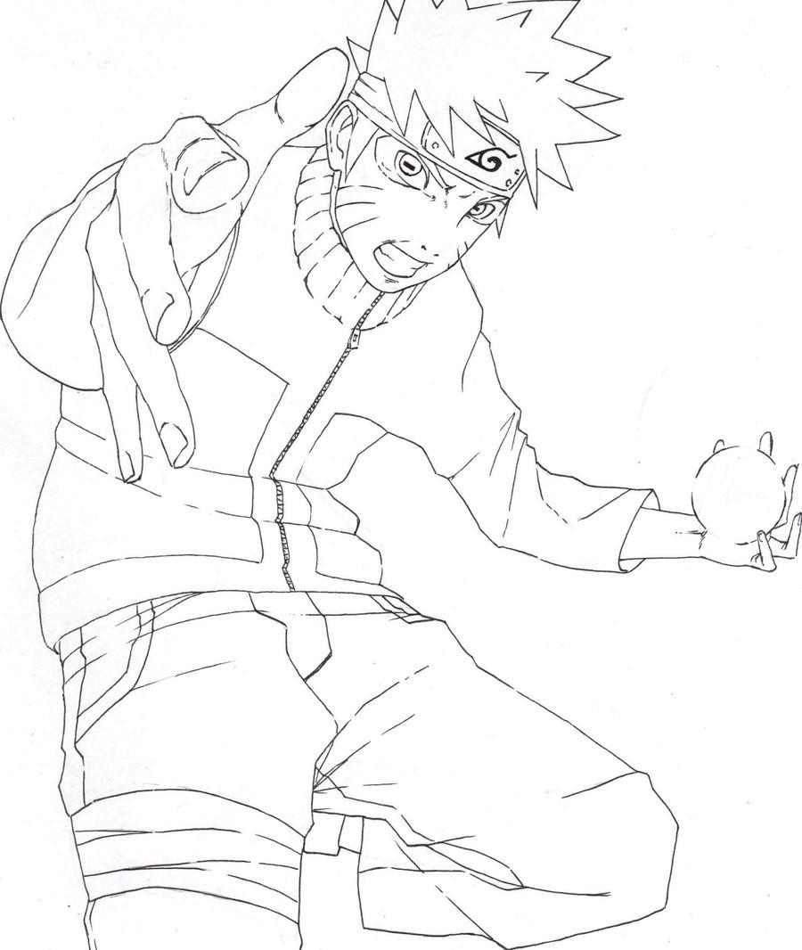 Sage-Mode Naruto LineArt by ArtisticPhun on DeviantArt