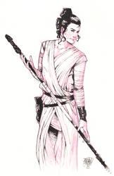 Rey Sketch by ArtisticPhun