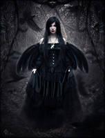crow witch by LilifIlane