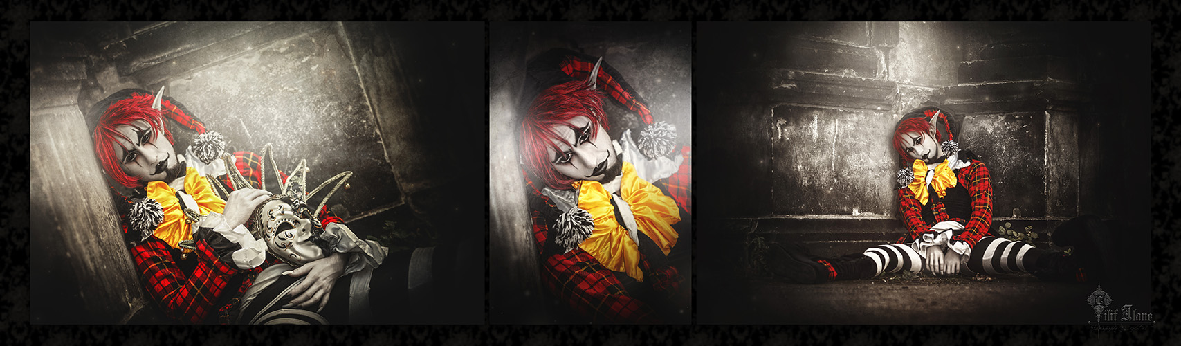 sad clown by LilifIlane