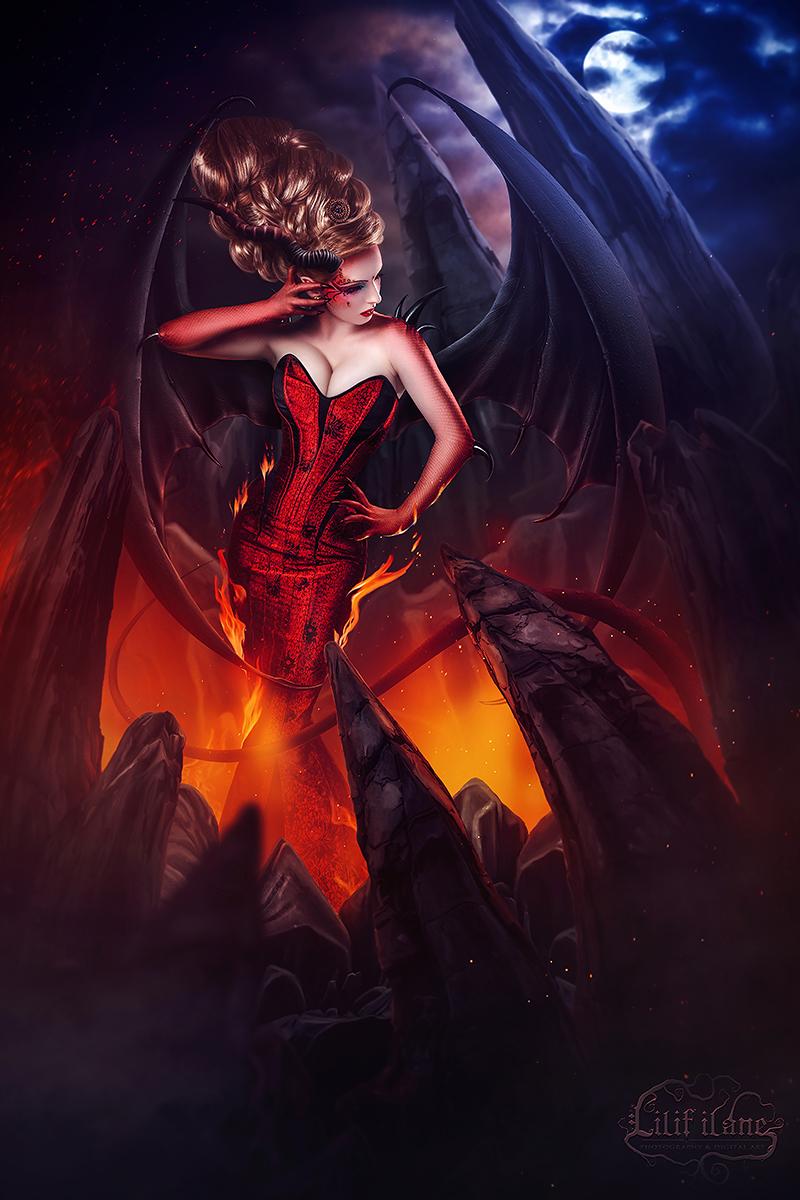 The Dragon Lady by LilifIlane