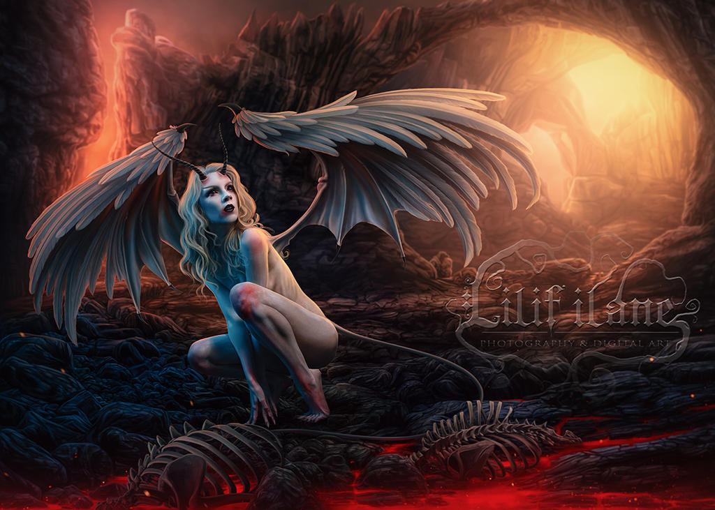 Fallen Angel by LilifIlane