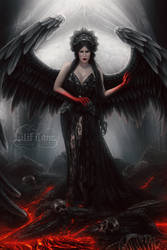 Angel in Hell by LilifIlane