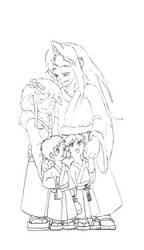 KunZoi Family portrait WIP
