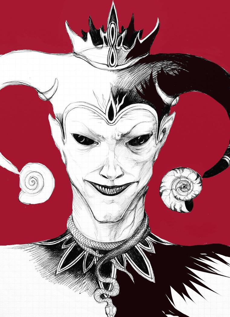 evil harlequin BWR by evilcrowbar