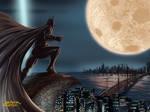 Batman : Nice view - colour