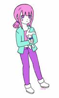 Pastel doll