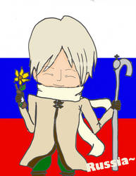 Russia Bookmark