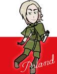 Poland Bookmark